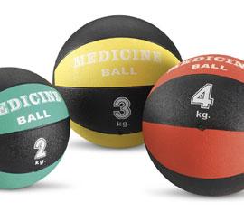 diverse tipologie di palla medica